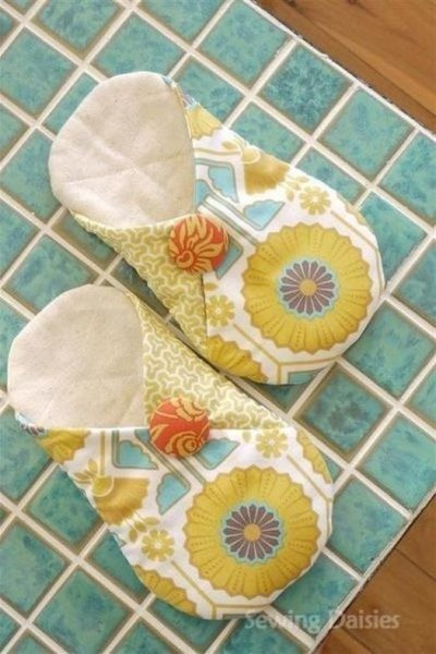 Як легко зшити домашні тапочки своїми руками
