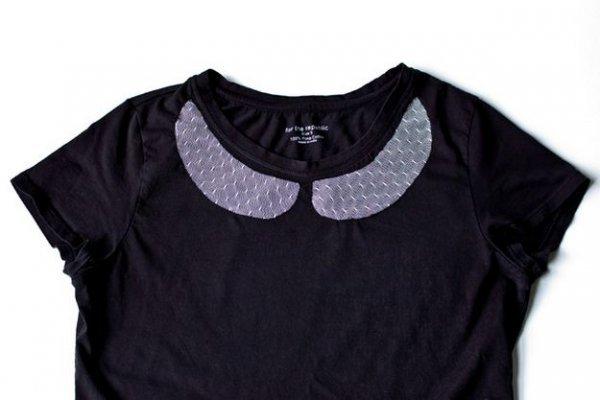 Як оновити футболку? Простий спосіб декору одягу.