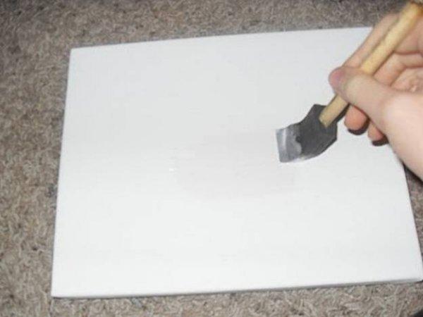 Як перенести фотографію на полотно?