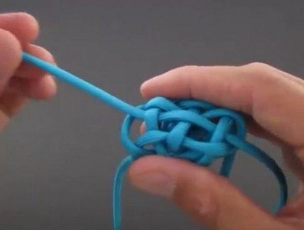 Як зав\язати вузлик у вигляді кульки