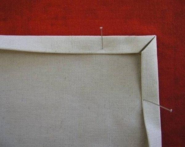 Як зробити акуратний куточок серветки? Майстер клас по шиттю.