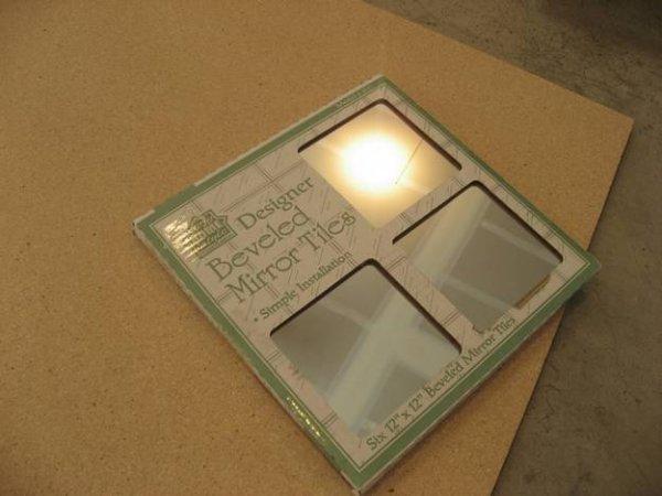 Як зробити дзеркальне панно своїми руками.