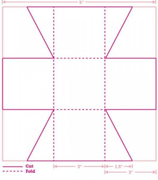 Як зробити коробочки з фетру своїми руками. Майстер клас з шаблоном.