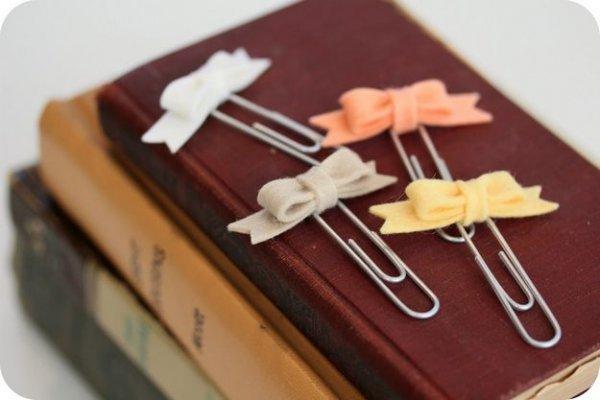 Як зшити закладки для книг з фетру