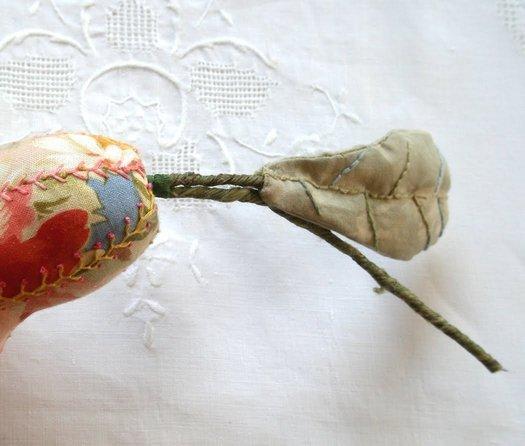 Вінтажна игольниц у формі груші