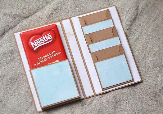 Як оформити шоколадку в подарунок