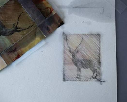 Як перевести картинку з журналу   «малюємо» листівки