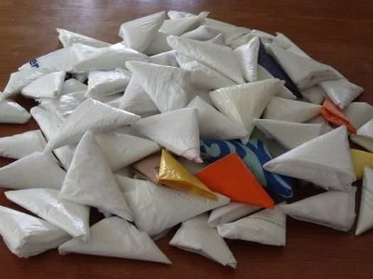 Як зберігати пакети   поліетиленове «орігамі»