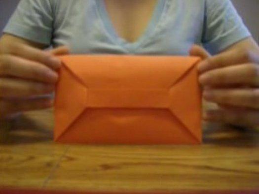 Як зробити конверт орігамі?