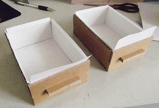 Як зробити органайзер з картонної коробки   майстер клас
