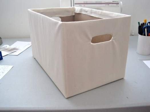 Коробка для белья из картона своими руками 5