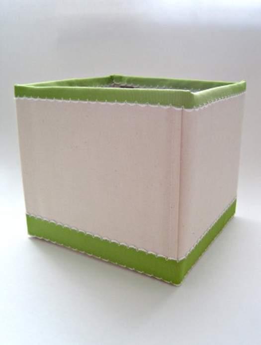 Коробка для белья из картона своими руками 4