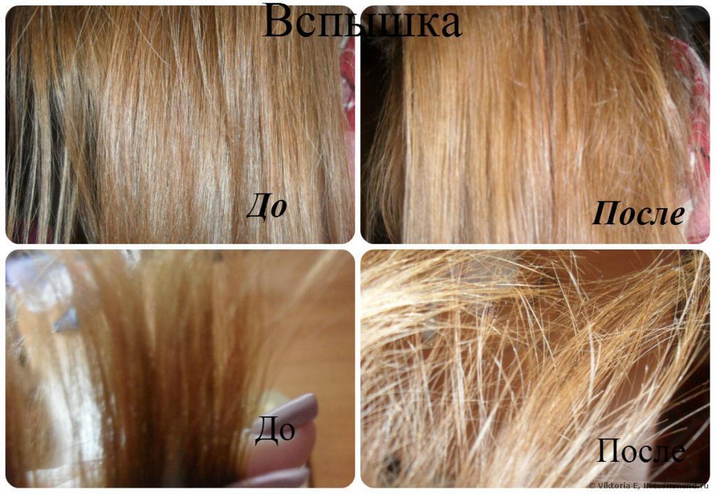 Маска в домашних условиях для осветления волос