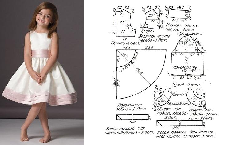 Вам платье для девочки сшить своими руками фирмах трудящихся