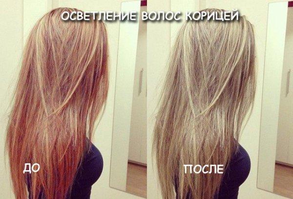 Освітлення волосся корицею (відгуки, відео)