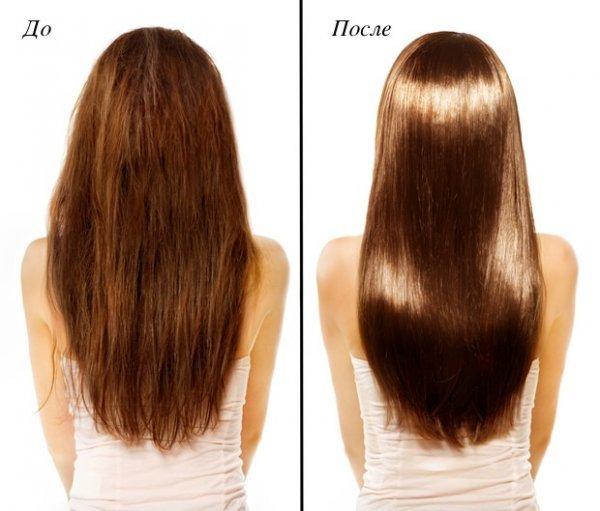 Рицинова олія для волосся