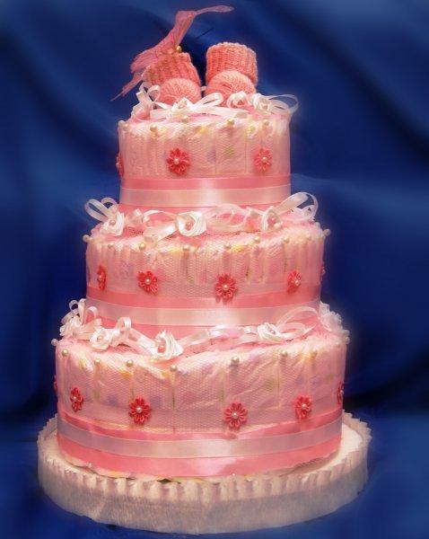 Торт з памперсів своїми руками. Особливості виготовлення торта з підгузників