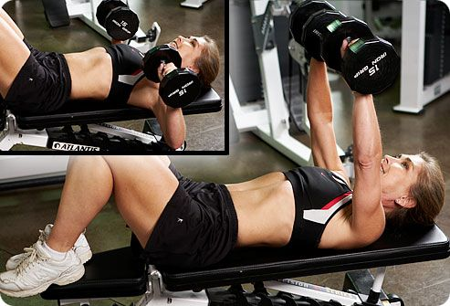 Вправи для грудних м\язів дівчатам