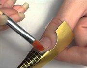 Гелеве нарощування нігтів: відео приклади