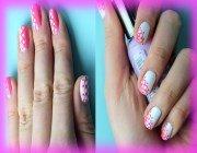 Красиві малюнки на нігтях дотсом