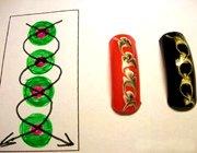 Малюнки на нігтях: покрокові схеми для початківців