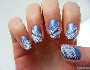Оригінальний дизайн нігтів з мереживом