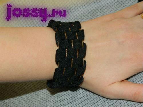 Плетений браслет