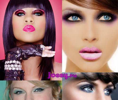 Вечірній макіяж для блакитних очей   ідеї та фото вечірнього макіяжу для блакитних очей