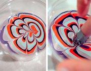 Водний манікюр: краса з миски