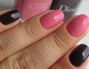 Як фарбувати нігті двома кольорами