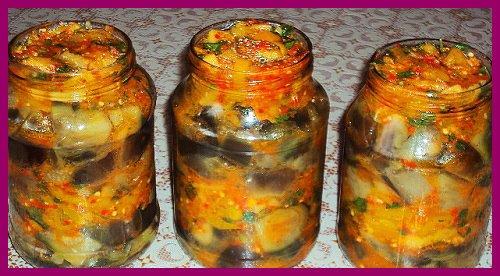 Баклажани на зиму – кращі рецепти заготівлі баклажанів