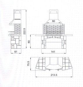 Барбекю з цегли: Як побудувати барбекю своїми руками, підготовка та етапи будівництва