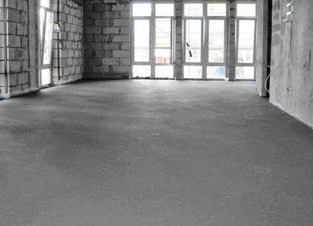 Бетонна стяжка підлоги | Сам Будував