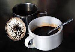 Чорна кава без білих плям (здорове харчування)