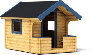 Дитячий будиночок для дачі: види, особливості, матеріали і інструменти для будівництва, технологія спорудження своїми руками