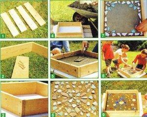Форми для садових доріжок: існуючі види, технологія виготовлення доріжок