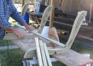 Гойдалки на дачі: різновиди дачних гойдалок і технологія будівництва гойдалки своїми руками