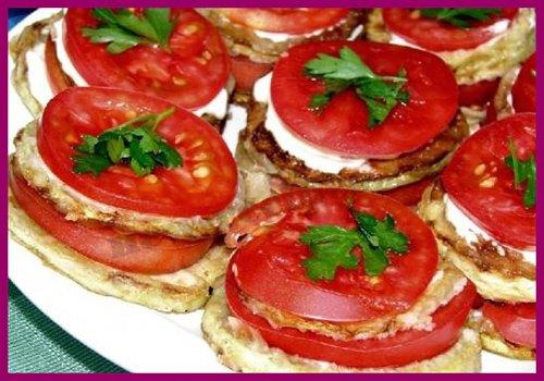 Кабачки з помідорами – приготування кабачків з помідорами