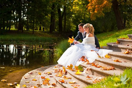 Креативні і оригінальні ідеї для весільних фотографій