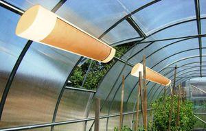 Інфрачервоні обігрівачі: переваги та недоліки, особливості застосування в теплицях