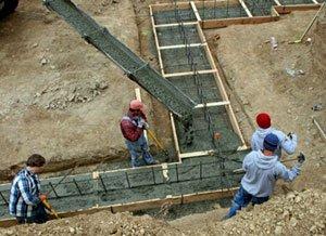 Особливості вибору бетону для фундаменту