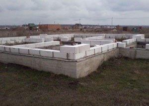 Особливості вибору фундаменту для будинку з піноблоків