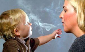 Паління при грудному вигодовуванні   наслідки, вплив на організм матері і дитини