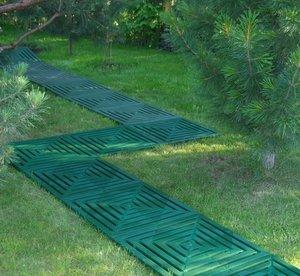 Плитка для доріжок: різновиди плитки для дачних доріжок, їх технічна характеристика