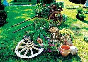 Прикраси для саду: варіанти та ідеї, що можна зробити самому, необхідні матеріали
