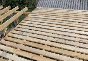 Проектування і будівництво односхилого даху своїми руками