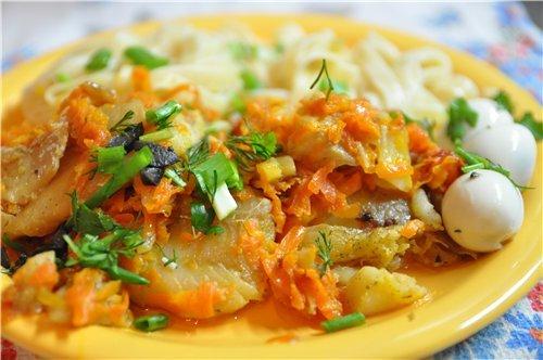 Риба під маринадом – кращі рецепти приготування риби в маринаді