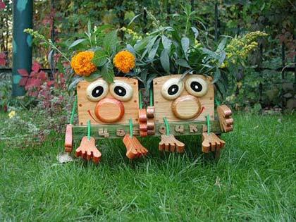 Садові фігури своїми руками: робимо прості фігурки для саду