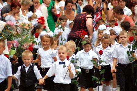 Сценарій свята посвячення у першокласники