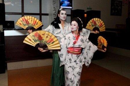 Сценарій вечірки в японському стилі